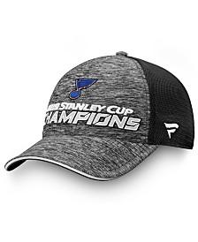 Authentic NHL Headwear St. Louis Blues 2019 Stanley Cup Champ Trucker Cap