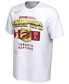 Nike Men's Toronto Raptors 2019 Finals Champion Official Locker Room T-Shirt
