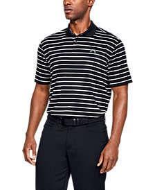 Under Armour Men's Performance Polo Textured Stripe