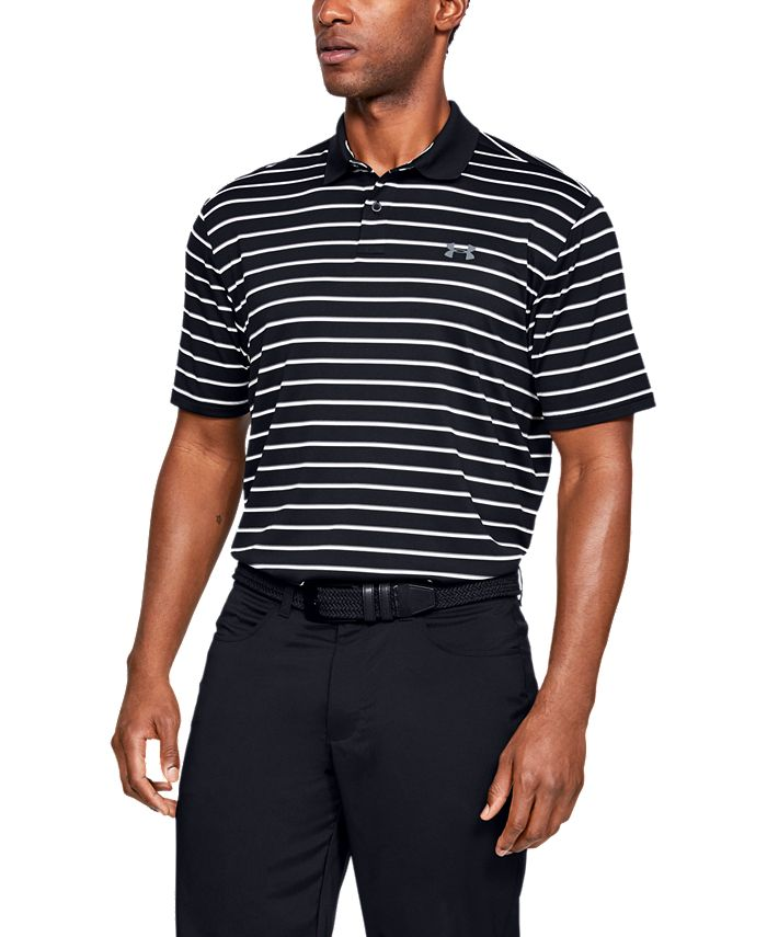 Under Armour - Men's Performance Polo Textured Stripe
