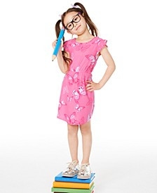 Toddler Girls Butterfly-Print Dress, Created for Macy's