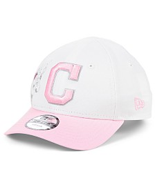 New Era Toddlers & Little Girls Cleveland Indians Minnie Heart 9FORTY Adjustable Cap