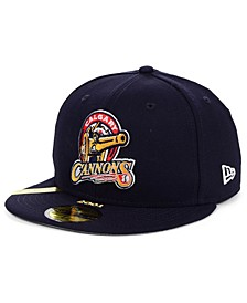 Calgary Cannons MiLB 100TH Anniversary Patch 59FIFTY-FITTED Cap