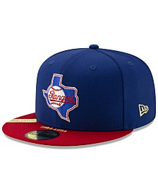New Era Texas Rangers Timeline Collection 59FIFTY-FITTED Cap