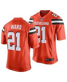 on sale 6e84d 7102c Men's Denzel Ward Cleveland Browns Game Jersey