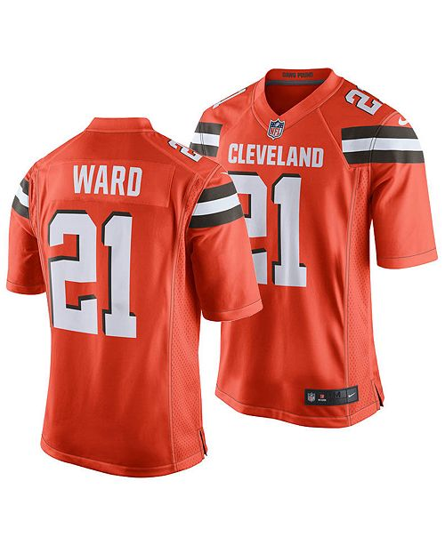 Nike Men's Denzel Ward Cleveland Browns Game Jersey