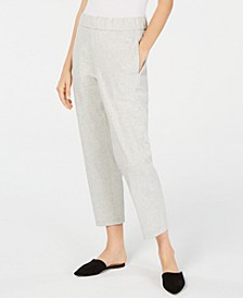 Tapered Ankle Pants, Regular & Petite