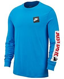 Nike Men's Sportswear Just Do It Long-Sleeve T-Shirt