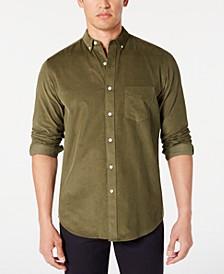 Men's Corduroy Shirt, Created for Macy's