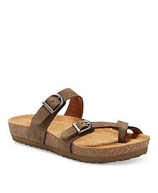 Eastland Women's Tiogo Thong Sandals