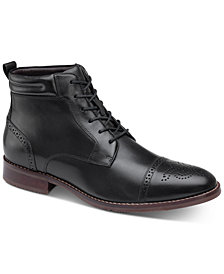 Johnston & Murphy Redding Cap-Toe Boots