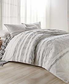 CLOSEOUT! Pure Woven Stripe King Duvet