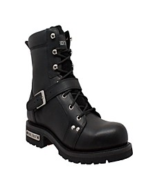 "Men's 8"" Zipper Lace Boot"