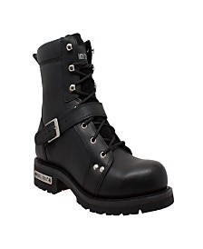 "AdTec Men's 8"" Zipper Lace Boot"