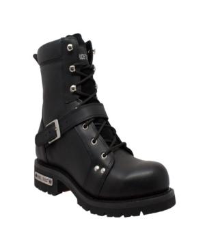 """Men's 8"""" Zipper Lace Boot Men's Shoes"""