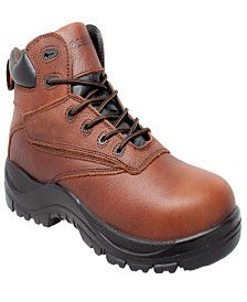 "AdTec Men's 7"" Water Resistant Composite Safety Toe Boot"