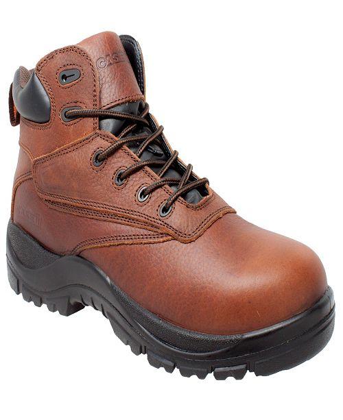 "AdTec Men's 7"" Water Resistant Composite Safety Toe Boot"