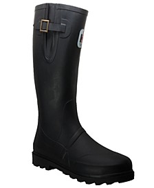 Men's Expandable Calf Rubber Boot