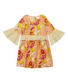 Masala Baby Kids Simple Dress Swan Lake