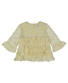 Masala Baby Kids Angel Top Lace