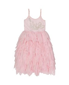 Masala Baby Kids Swan Song Tulle Dress