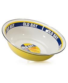 Golden Rabbit Old Bay Enamelware Collection 4 Quart Serving Bowl