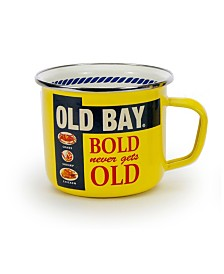 Golden Rabbit Old Bay Enamelware Collection Grande Mug, 24oz
