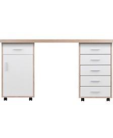 Winsome Wood Kenner 3-Piece Modular Desk Set