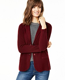 Petite Cashmere Blazer, Created for Macy's