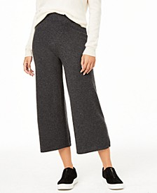 Cashmere Culotte Pants, Regular & Petite, Created For Macy's