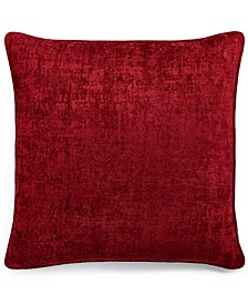 "Spot Chenille 20"" x 20"" Decorative Pillow, Created for Macy's"