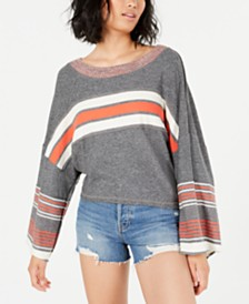 Free People Cooper Striped Long-Sleeve T-Shirt