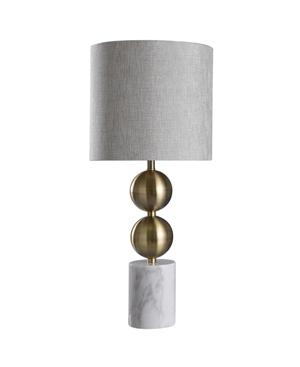 Harp & Finial Racine Table Lamp