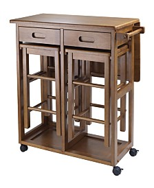 Winsome Wood Suzanne 3-Piece Space Saver Set