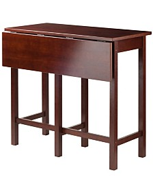Winsome Wood Lynnwood Drop Leaf High Table