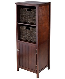3-Piece Brooke Jelly Cupboard with 2 Baskets