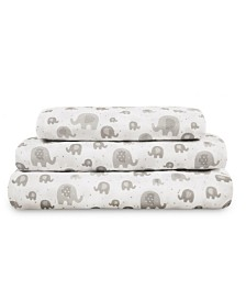 Tadpoles 3-Piece Twin Sheet Set