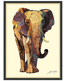 'Elephant' Dimensional Collage Wall Art - 30'' x 40''