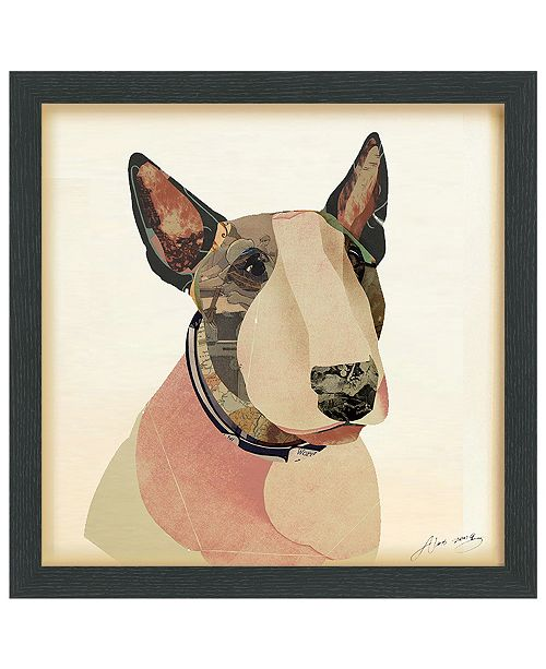 Empire Art Direct 'American Bull Terrier' Dimensional Collage Wall Art - 17'' x 17''