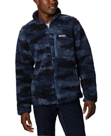 Columbia Men's Winter Pass™ Full-Zip Printed Fleece Jacket