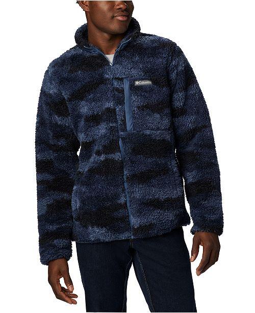 Columbia Men's Winter Pass™ Full-Zip Printed Fleece Jacket