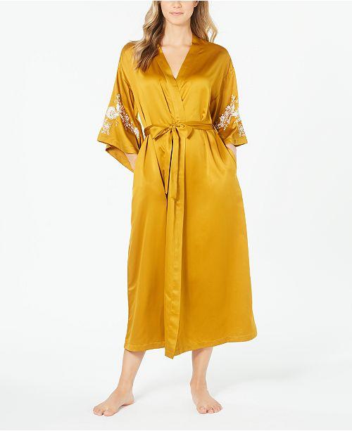 INC International Concepts INC Women's Lace Kimono Robe, Created for Macy's