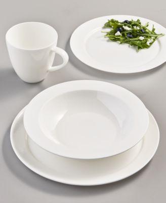 Rim Bone China Dinner Plate, Created for Macy's