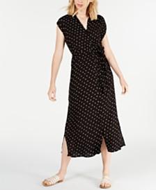 Billabong Juniors' Little Flirt Printed Midi Dress