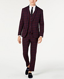 I.N.C. Men's Tartan Suit Separates, Created for Macy's