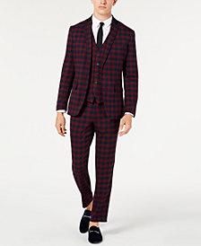 I.N.C. Men's Tartan Suit Separates, Created for Macy's