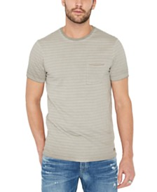 Buffalo David Bitton Men's Kolight Striped T-Shirt