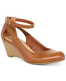 Miley Chop Out Wedges, Created for Macy's