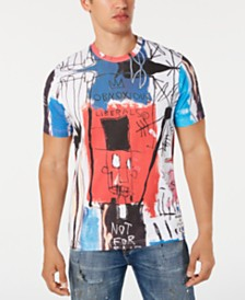 Sean John Men's Basquiat Graphic T-Shirt