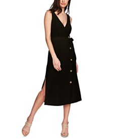 1.STATE Faux Wrap Midi Dress